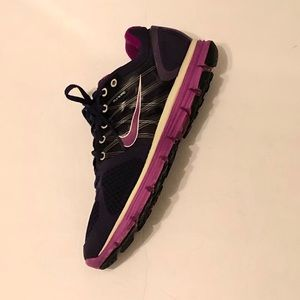 Women's 2010 Nike LunarGlide 2 Running Shoe Purple
